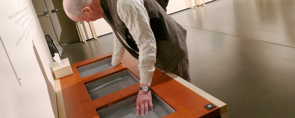 Nicholas Fox Weber at the Josef Albers Table